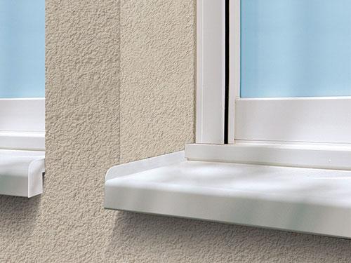 Appuis de fen tre o s b ventilation l artisan groupe opb for Appuis de fenetre en aluminium